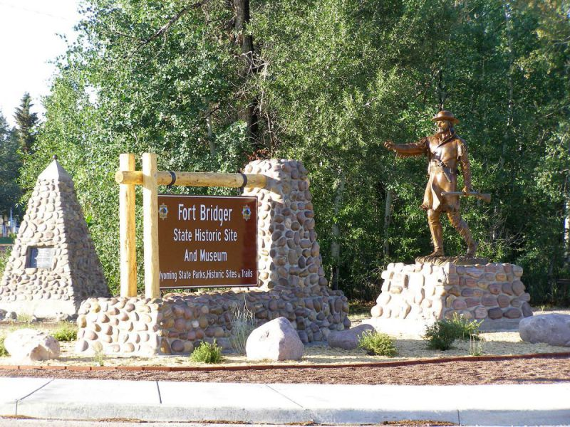 Fort-Bridger-Entrance